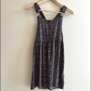 Xhilaration floral skirt overalls SIZE XS